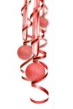 Decoração da esfera do Natal Fotografia de Stock Royalty Free