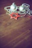 Decoração da esfera do Natal Imagens de Stock Royalty Free