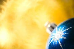 Decoração da esfera do Natal Fotos de Stock