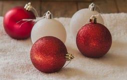 Decoração da esfera do Natal Imagem de Stock Royalty Free