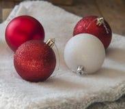 Decoração da esfera do Natal Imagem de Stock