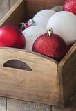 Decoração da esfera do Natal Foto de Stock Royalty Free