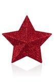 Decoração da estrela do Natal Fotografia de Stock Royalty Free