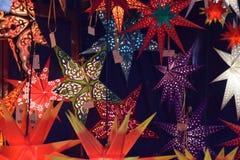 Decoração da estrela do Natal Imagem de Stock