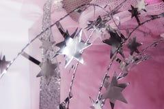 Decoração da estrela do Xmas foto de stock