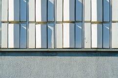 Decoração da fachada da construção fotos de stock