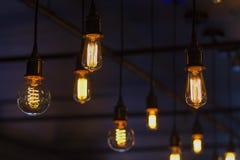 Decoração da iluminação foto de stock