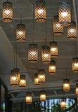 Decoração da iluminação do vintage imagens de stock royalty free