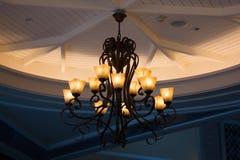 Decoração da iluminação do vintage foto de stock royalty free