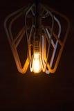 Decoração da iluminação do vintage Imagens de Stock