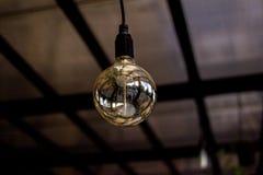 Decoração da iluminação do vintage Lâmpada do restaurante foto de stock royalty free