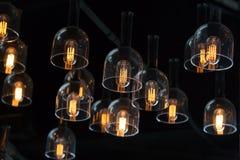 Decoração da iluminação interior imagens de stock royalty free