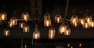 Decoração da iluminação interior fotos de stock royalty free
