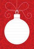 decoração da Natal-árvore ilustração do vetor