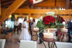Decoração da noiva Imagens de Stock