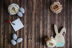 Decoração da Páscoa com cores pastel Fotos de Stock Royalty Free