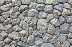 Decoração da parede de pedra fotografia de stock