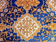Decoração da parede em Samarkand. imagem de stock royalty free