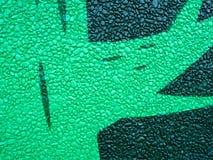 A decoração da parede da rocha pintou o teste padrão imagens de stock