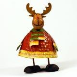 Decoração da rena do Xmas Foto de Stock Royalty Free