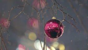 Decoração da rua do Natal filme