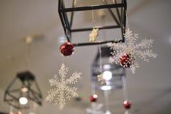 Decoração da sala do ano novo da imagem imagens de stock