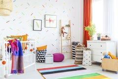 Decoração da sala do bebê imagens de stock royalty free