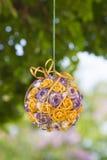 Decoração da tabela do casamento, flores no vaso above Profundidade rasa imagens de stock royalty free