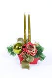 Decoração da tabela do Natal Fotos de Stock