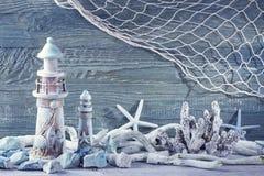 Decoração da vida marinha Fotografia de Stock