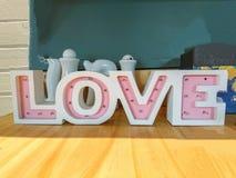 Decoração das cartas de amor fotos de stock royalty free