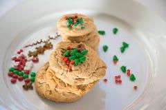 Decoração das cookies Foto de Stock Royalty Free