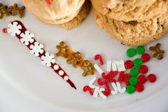 Decoração das cookies Foto de Stock