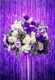 Decoração das flores, para o casamento fotografia de stock