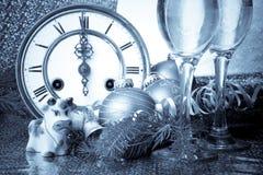 A decoração de ano novo imagens de stock