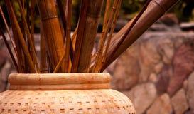 Decoração de bambu Imagem de Stock