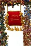 Decoração de Cristmas imagens de stock royalty free