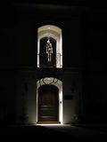 Decoração de esqueleto de Halloween Foto de Stock Royalty Free