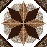 Decoração de Granitte Imagens de Stock
