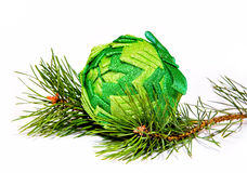 Decoração de GreenChristmas Imagem de Stock