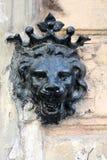 Decoração de Lion Head Fotografia de Stock Royalty Free