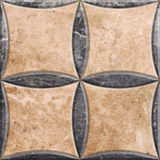 Decoração de mármore Fotos de Stock Royalty Free