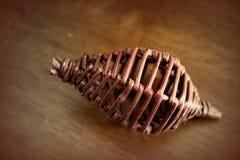 Decoração de madeira Foto de Stock