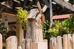 Decoração de madeira da casa Foto de Stock Royalty Free