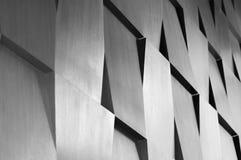 Decoração de madeira da geometria da parede Foto de Stock Royalty Free