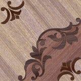 Decoração de madeira decorativa Fotos de Stock