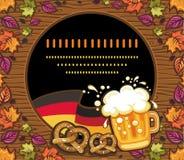 Decoração de Oktoberfest foto de stock royalty free