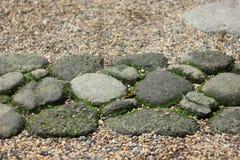 Decoração de pedra do trajeto Fotografia de Stock