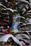 Decoração de Snowman-2 Fotos de Stock Royalty Free
