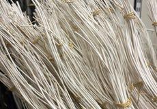 Decoração de varas da grama seca Fotografia de Stock
